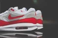 #Nike Air Max 1 OG Lunar Sport Red #sneakers