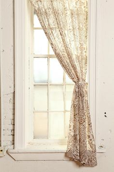 Antoinette Damask Curtain- UO $39.00