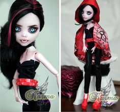 November SALE  OOAK Monster High Custom Repaint by RogueLively