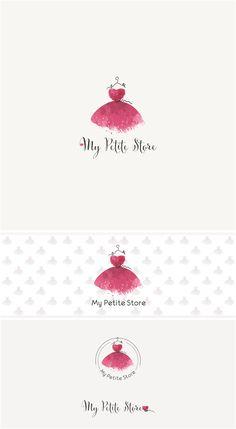 Petite dress logo | 99designs