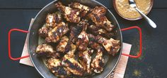 Ah, Jamaica! Our minds drift to a place of beautiful beaches, reggae music and a slower, more relaxed way of life, not to mention extraordinarily well-seasoned food. These jerk chicken wings are marin