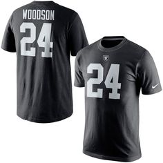 Charles Woodson Oakland Raiders Nike Player Pride Name & Number T-Shirt - Black - $31.99