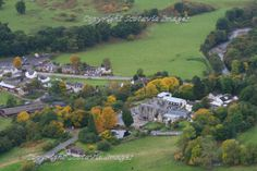 Drumnadrochit by loch Ness. Aerial photograph Scotland. Prints 18x12 £25 24x16 £35 same size on canvas ready to hang £60. Order via website www.scotaviaimages.co.uk