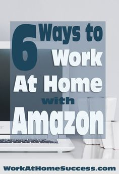 Who knew Amazon had so many ways you can make money from home? Here are 6 of them. https://www.workathomesuccess.com/6-ways-to-work-at-home-with-amazon-com/?utm_campaign=coschedule&utm_source=pinterest&utm_medium=Leslie%20Truex