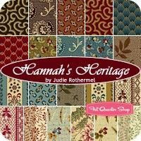 Hannah's Heritage Fat Quarter Bundle<BR>Judie Rothermel for Marcus Brothers Fabrics