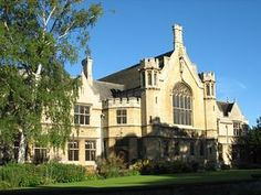 Oundle School -- miss watching my children walk the wall!