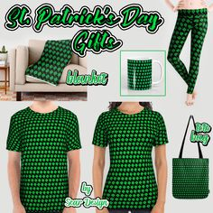 Celebrate Saint Patrick's Day with these Awesome  Gifts!  made by Scar Design. #tshirt #alloverprint #tees #stpatricktshirt #saintpatricksdaytshirt #shirt #paddysdaytshirt  #stpatrick #paradetshirt #totebag #blanket #stpatricksday #drink #parade #green #irish #ireland #coffeemug #paddysday #flag  #party #irishcoffee #leggings #paradeclothes #kissme #charms #luckycharms #kissmeimirish #spring #clover #greenday #stpatrick #stpatricksday #irish #ireland #gotgreen #stpattysday
