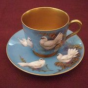 Royal Worcester C by Walter Powell