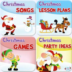 Get Christmas Lesson Plans, Games, Party Ideas, and more, from Super Simple Learning.
