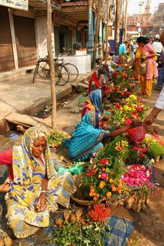سوق الورد والزهور/الهند