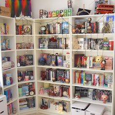 """When today's challenge asks for Shelfie, a Shelfie must be delivered.  I actually really really really want to organize my bookshelves by colors but I'm…"""