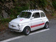 #FIAT 500 #Abarth vintage