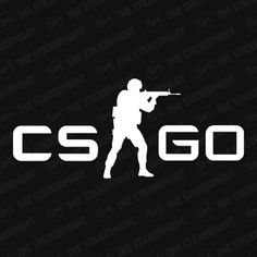 CS:GO Counter-Strike Global Offensive Logo Vinyl Decal