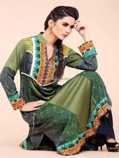 Zahra Ahmad Casual Dresses 2013 for Summer