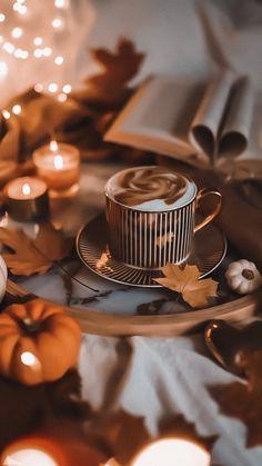 Autumn Tale, Autumn Cozy, Morning Coffe, Cute Fall Wallpaper, Winter Coffee, Autumn Scenery, Autumn Aesthetic, Instagram Highlight Icons, Fall Photos