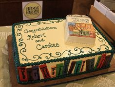 What a beautiful cake for the book launch of Frenchtown, New Jersey by Robert Ra… - Food Cook Recipe Ideas Beautiful Cakes, Amazing Cakes, Meat Cooking Times, Cooking Games, Library Cake, Cooking Beets, Cooking Salmon, Book Presentation, Cake Pictures