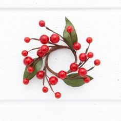 Berry Wreath Napkin Ring
