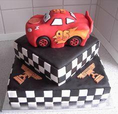 Lightning McQueen by cakejournal, via Flickr