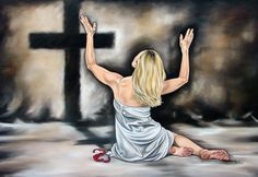 """""""The thief comes only to steal and kill and destroy; I have come that they may have life, and have it to the full.""""(John 10:10). Artist Ilse Kleyn, www.artofkleyn.com"""