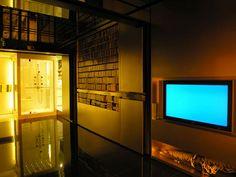 living room and tv of a Hong Kong micro apartment