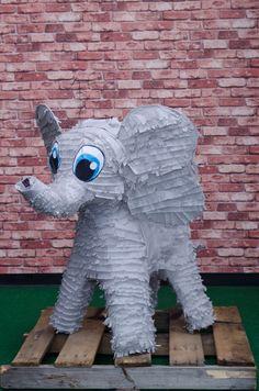 Elephant Piñata.  Exclusively at La Piñata Party. El Segundo, CA.