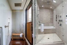 25 ванных комнат с тропическим душем – Вдохновение