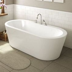 "A&E Bath and Shower Una 71"" x 34"" Freestanding Bathtub. Want one like this."