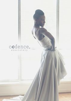OuterInner Real Customer Reviews: Dawnette Joseph's Wedding Gown. See Dawnette's beautiful OuterInner wedding gown in action here: http://www.outerinner.com/blog/2013/04/15/customer-reviews-dawnette-wedding-gown/