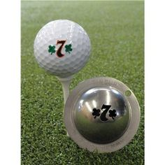 new product 6a9f6 7dc22 Tin Cup Ball Marker - Lucky 7 The Tin Cup system enables you to Make Your