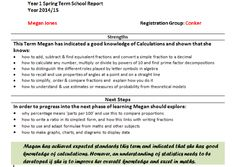 1edbc2adba This reprot can be sent to parents and is very customisable. School Info