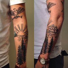 My tattoos so far.