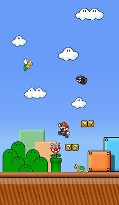 Super Mario World Wallpaper Iphone Video Games Geeky