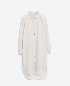 Image 8 of SHIRT DRESS from Zara