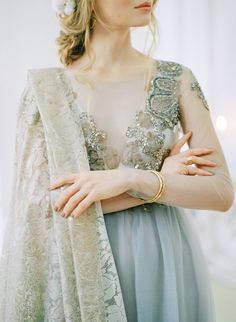 Trending - Blue and Grey Winter Wedding Ideas