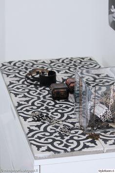 ideat,diy,laatat,marokko,marokkolainen,marrakech,makuuhuoneen sisustus,yksityiskohtia,makuuhuone