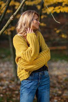 Knitting Patterns, Autumn Fashion, Turtle Neck, Warm, Casual, Style, Easy Crochet Shawl, Tejidos, Tunic