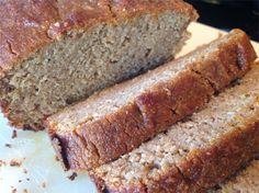 Coconut Flour Applesauce Spice Bread