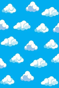6129 Puffy Clouds Backdrop  New Backdrop Style from backdropoutlet!
