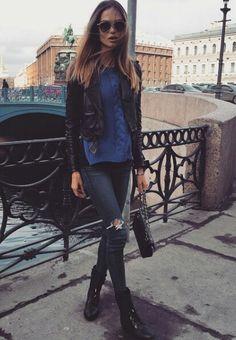 HouzDeco – Interior Design and Home Decor Ideas Casual Work Outfits, Work Casual, Mix Style, Style Me, Masha Trotsko, Street Chic, Street Style, Urban Fashion, Autumn Winter Fashion