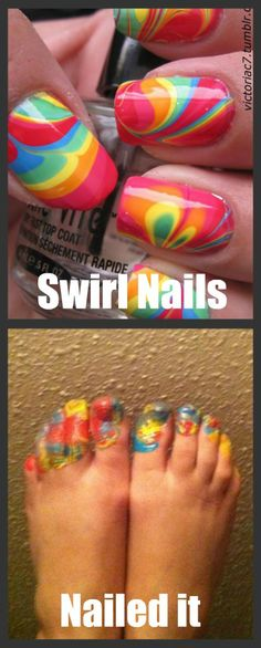 You know this happens to every pinterest nail art project!!
