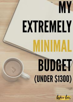 Ever wonder how you can actually live on less money than you make? Do you constantly struggle to save money and quit spending. Or are you just going through a hard time and trying to figure out how to make ends meet? Click through to see how I change our budget from normal comfortable budget to an extremely minimal budget of under $1300 a month! Make Ends Meet, Live On Less, Monthly Budget, Saving Money, Budgeting, Minimalism