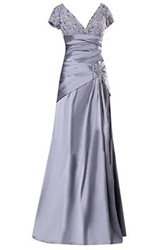 Sunvary Silver Mermaid Mother of the Bride Dresses Prom Gowns Short Sleeves US Size 14- Silver Sunvary http://www.amazon.com/dp/B00L3Y8SVK/ref=cm_sw_r_pi_dp_ntYyub1YVTP2Q