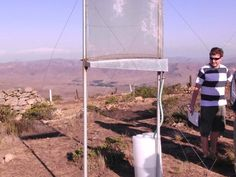 Fog-harvesting system developed by MIT and Chilean researchers could provide potable water for the world's driest regions. CAMBRIDGE, Mass. — In some of this planet's driest regions, where rainfall is rare or even nonexistent, a few