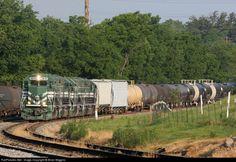 RailPictures.Net Photo: EVWR 3835 Evansville Western Railway EMD GP38-2 at Mt Vernon, Indiana by Brian Wiggins