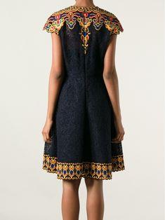 """Résultat de recherche d'images pour """"VALENTINO Embroidered Floral Lace A-Line Dress"""""""