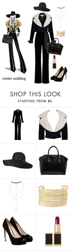 """""""winter wedding"""" by im-karla-with-a-k ❤ liked on Polyvore featuring Diane Von Furstenberg, Jean Patou, Givenchy, Charlotte Russe, GUESS and Tom Ford"""
