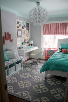 Whitestone benjamin moore kids contemporary with grey and coral grey and coral tween bedroom