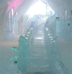 Ice Hotel: photos of the Ice Hotel (Hôtel de Glace) in Quebec Unique Hotels, Luxury Hotels, Ice Hotel, Ice Art, Ice Castles, Ice Ice Baby, Ice Sculptures, Snow And Ice, Adventure Is Out There