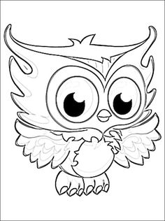 Fresh Cute Owl Coloring Pages To Print Cool Ga