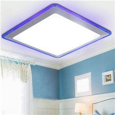 (In Stock) Flush Mount LED Modern  Contemporary Living Room  Bedroom  Kitchen  Bathroom  Study Room  Office  Kids Room  Garage Metal